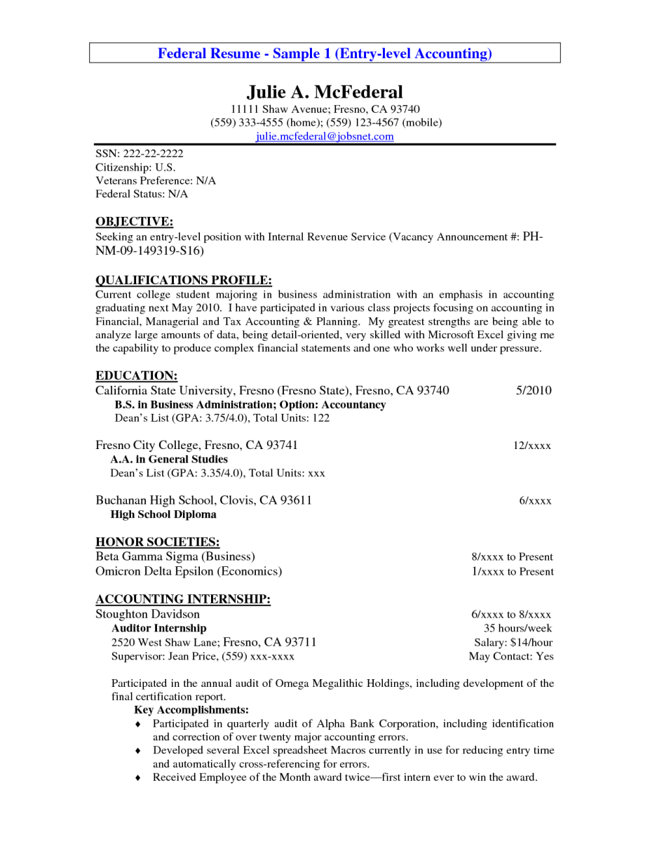 accounting objective for resume Dorit.mercatodos.co