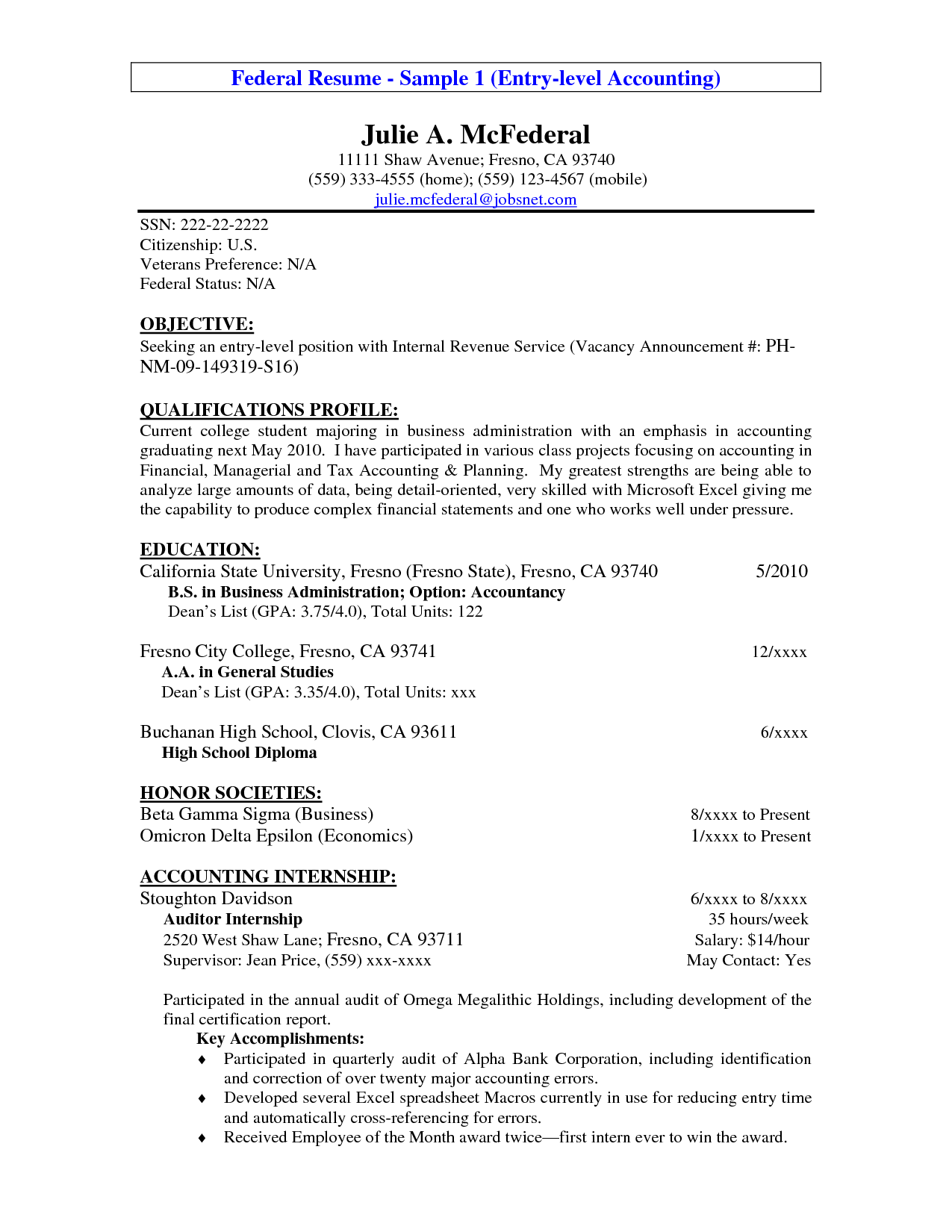 resume objective samples for entry level Dorit.mercatodos.co