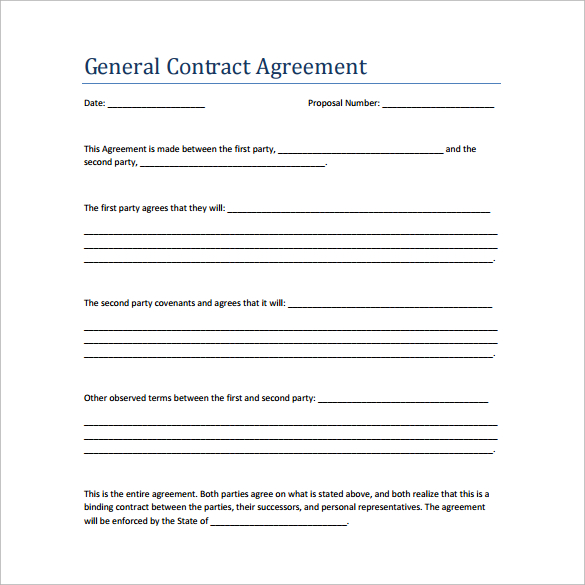 agreement contract template pdf sample contract agreement template