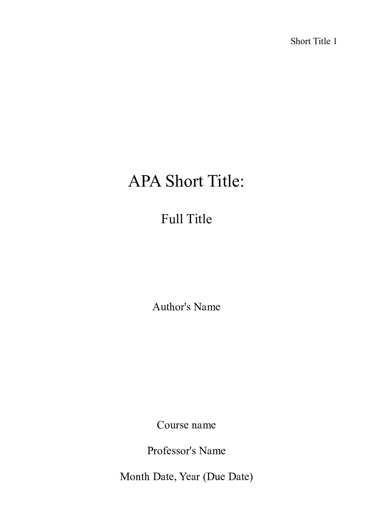 Purdue OWL: APA Formatting and Style Guide