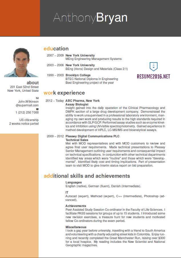 Resume Templates Best Formats Great Good Format Examples For
