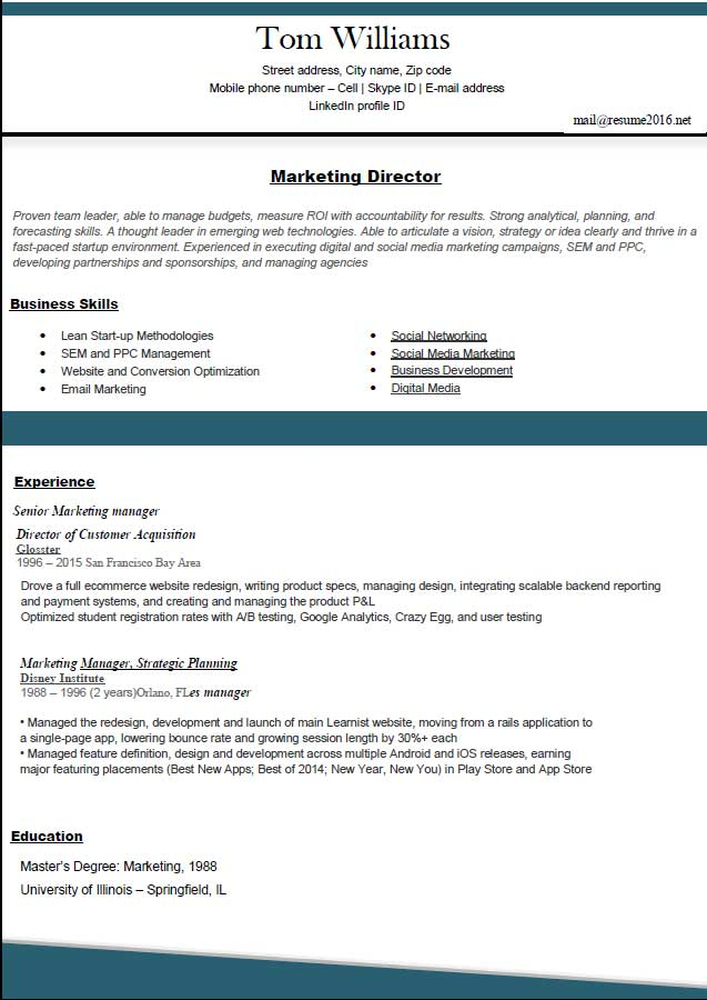 Top Best Resume Format Fashionable Formats 16 25 Ideas About 15