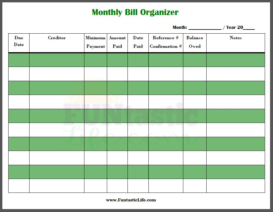 Bill Payments Organizer for Mac Iphone Blog | Iphone Learner