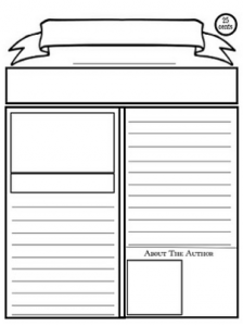Blank Newspaper Template for Multi Uses by Kim Cherry | TpT