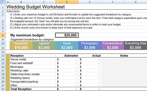 family budget worksheet household budget worksheet for excel