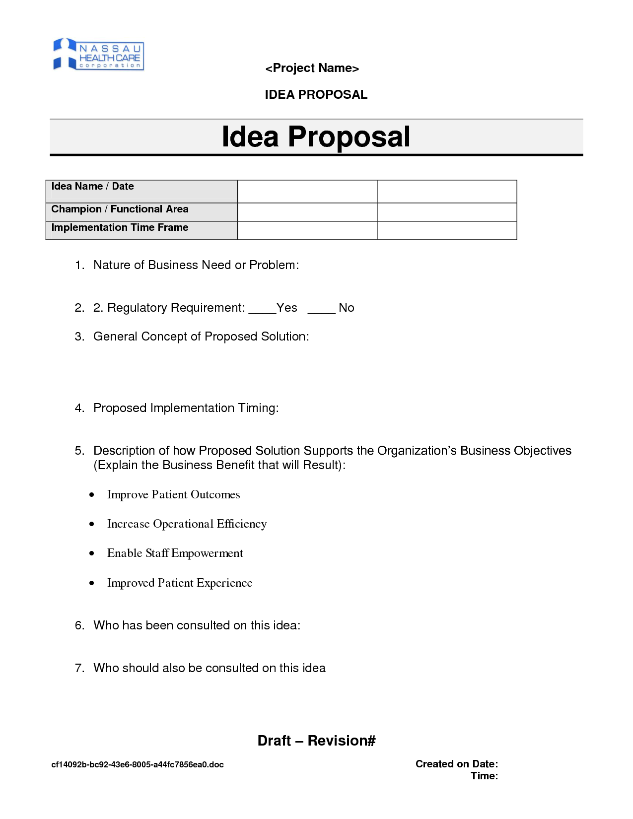 Business proposal ideas sample grand collection of solutions 28