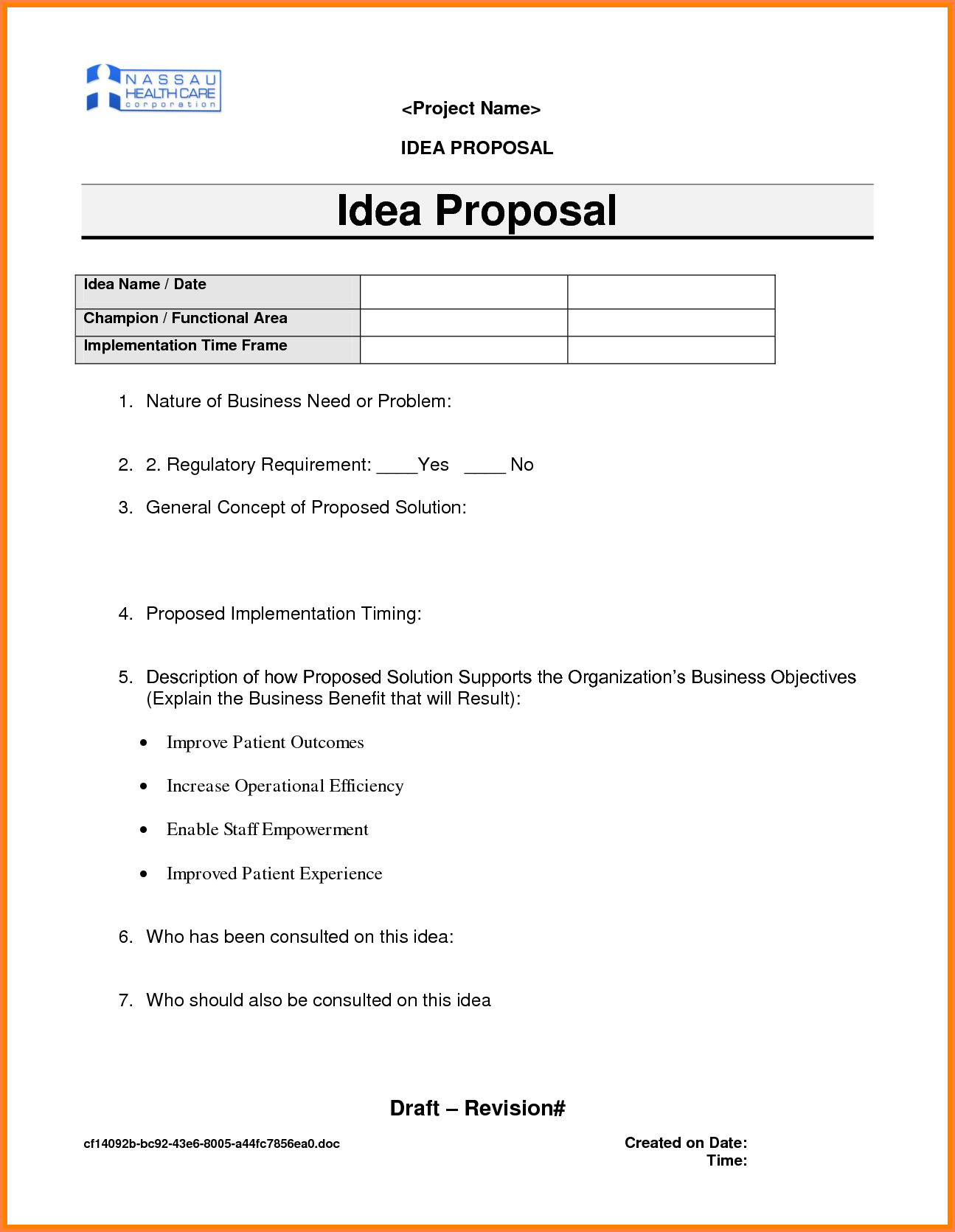 4+ ideas for business proposal | Project Proposal