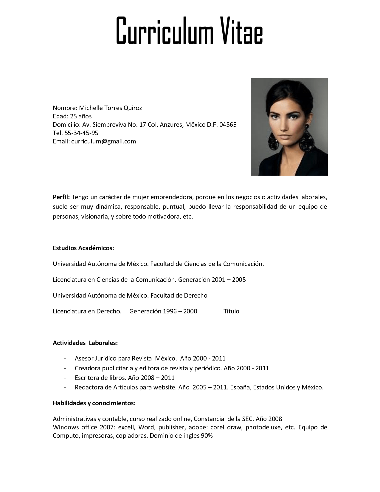 Curriculum Vitae | Fotolip.Rich image and wallpaper