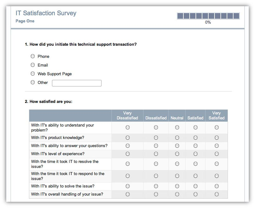 Cardiac Customer Satisfaction Survey · Remark Software