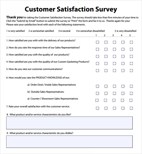 survey samples for customer satisfaction Roho.4senses.co