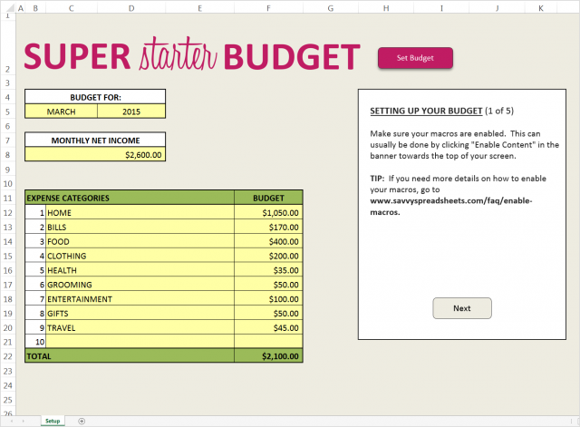easy budget template Dorit.mercatodos.co