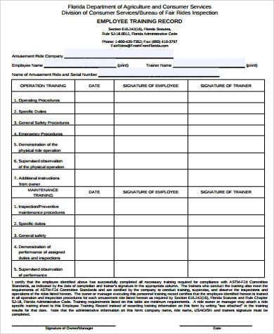 employee record form template free Roho.4senses.co