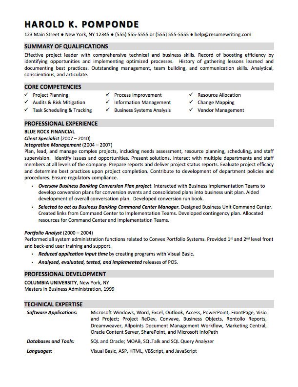 sample resume for business analyst entry level Onwe.bioinnovate.co