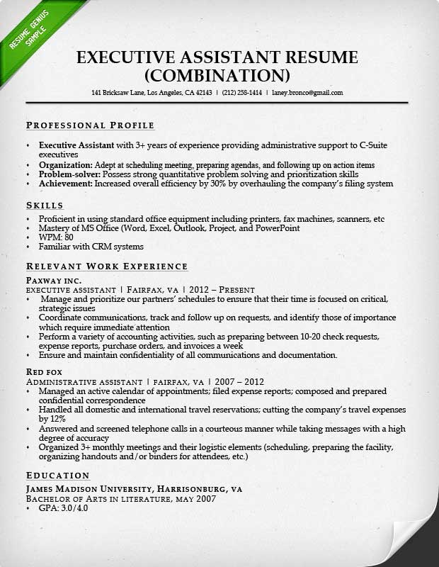 Administrative Assistant Resume Sample | Resume Genius