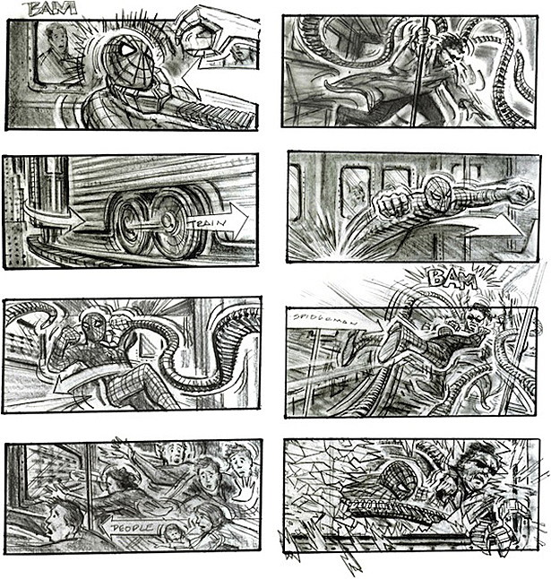 15 Movie Storyboards: See the Early Conceptions of Your Favorite