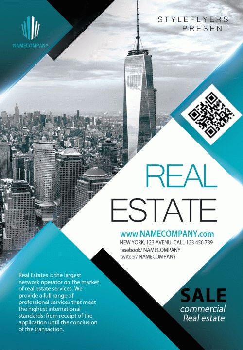 Real Estate Flyer Ideas Free Download #11827 Styleflyers