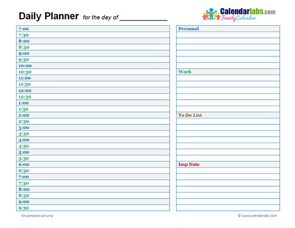 photo regarding Daily Calendar Template referred to as Free of charge Day-to-day Calendar Template cell discoveries