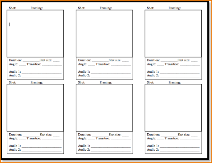 5+ free storyboard templates | teknoswitch