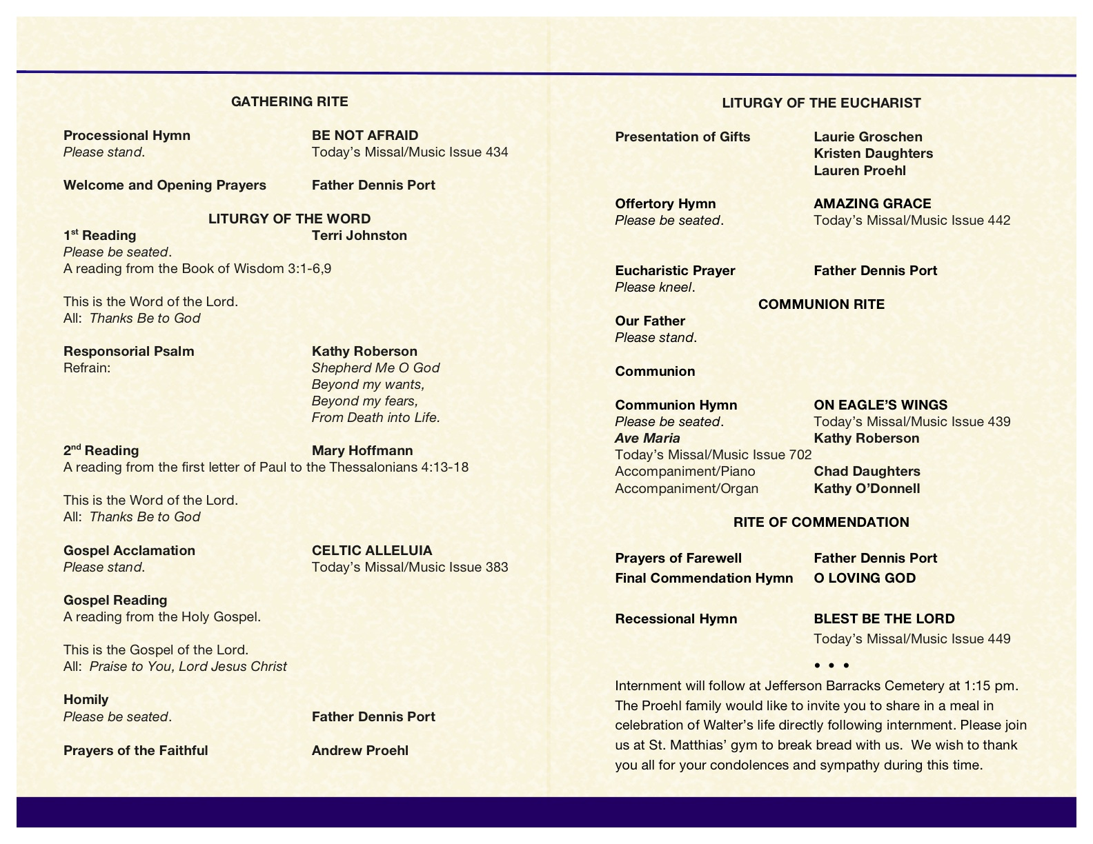 New Free Funeral Program Template Microsoft Publisher