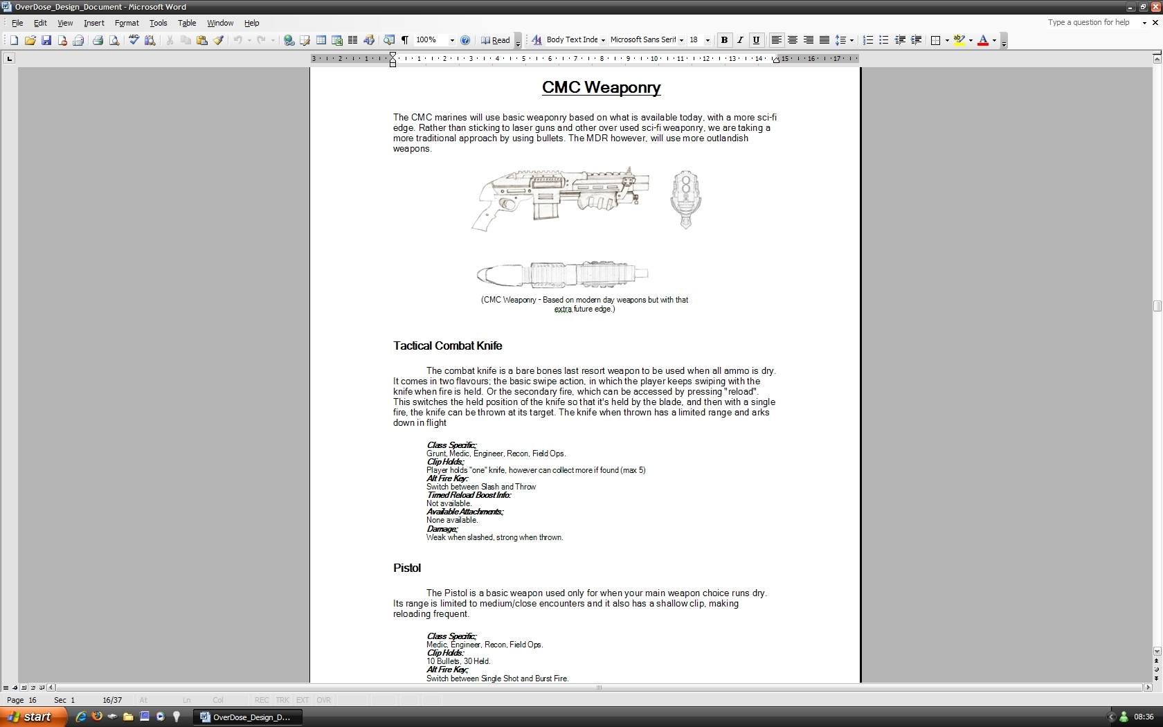 game design document Onwe.bioinnovate.co