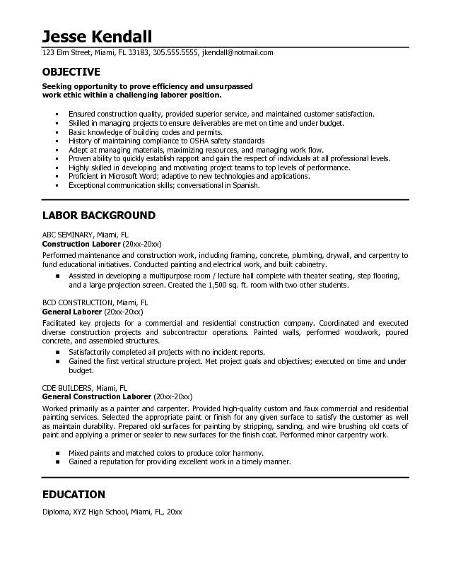 General Resume Objective essayscope.Com