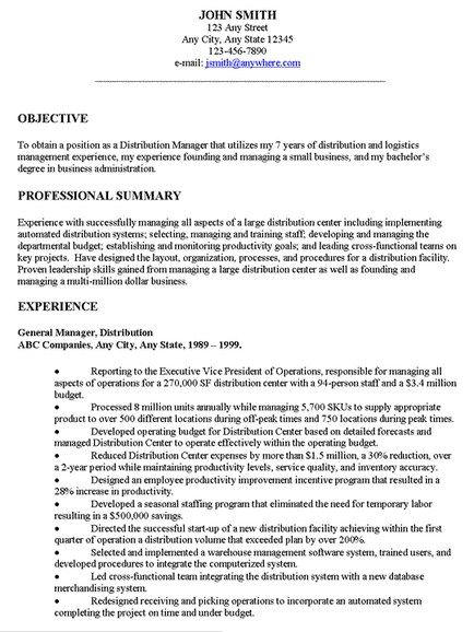 The 25 Best Examples Of Resume Objectives Ideas On Pinterest for
