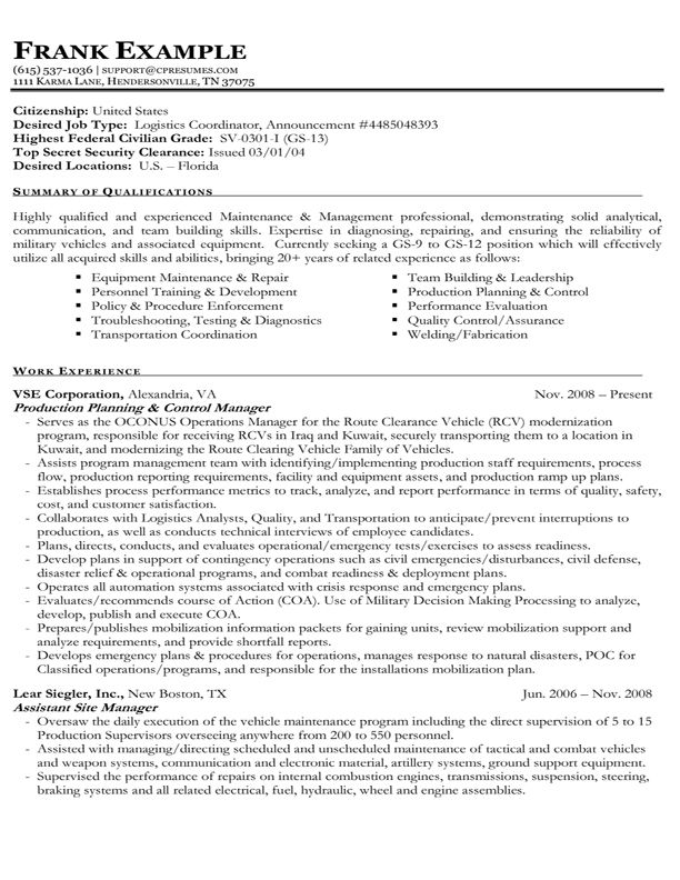 government job resume format Yeni.mescale.co
