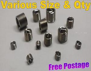 Helicoil Helicoils Thread Repair Inserts Wire Tap Thread Sizes M5