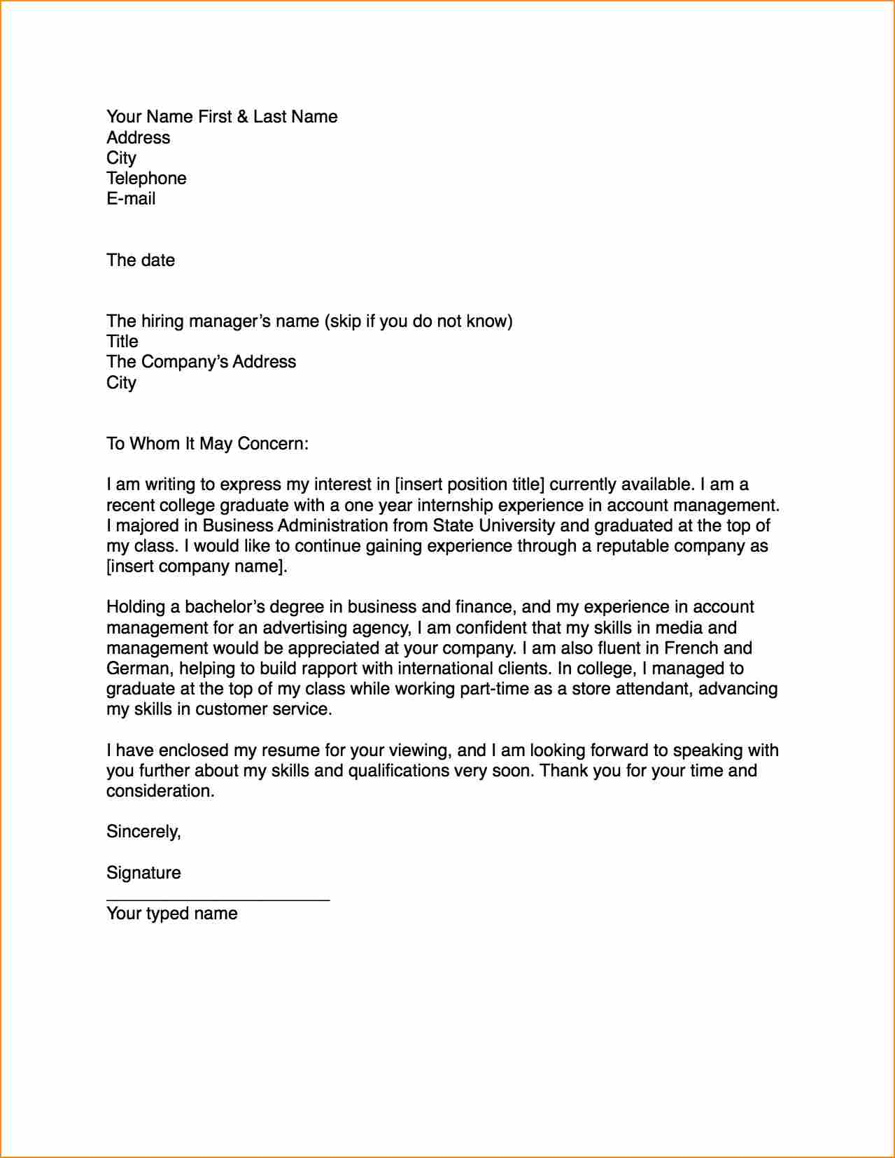 How To Write A Fax Letter | mobile discoveries