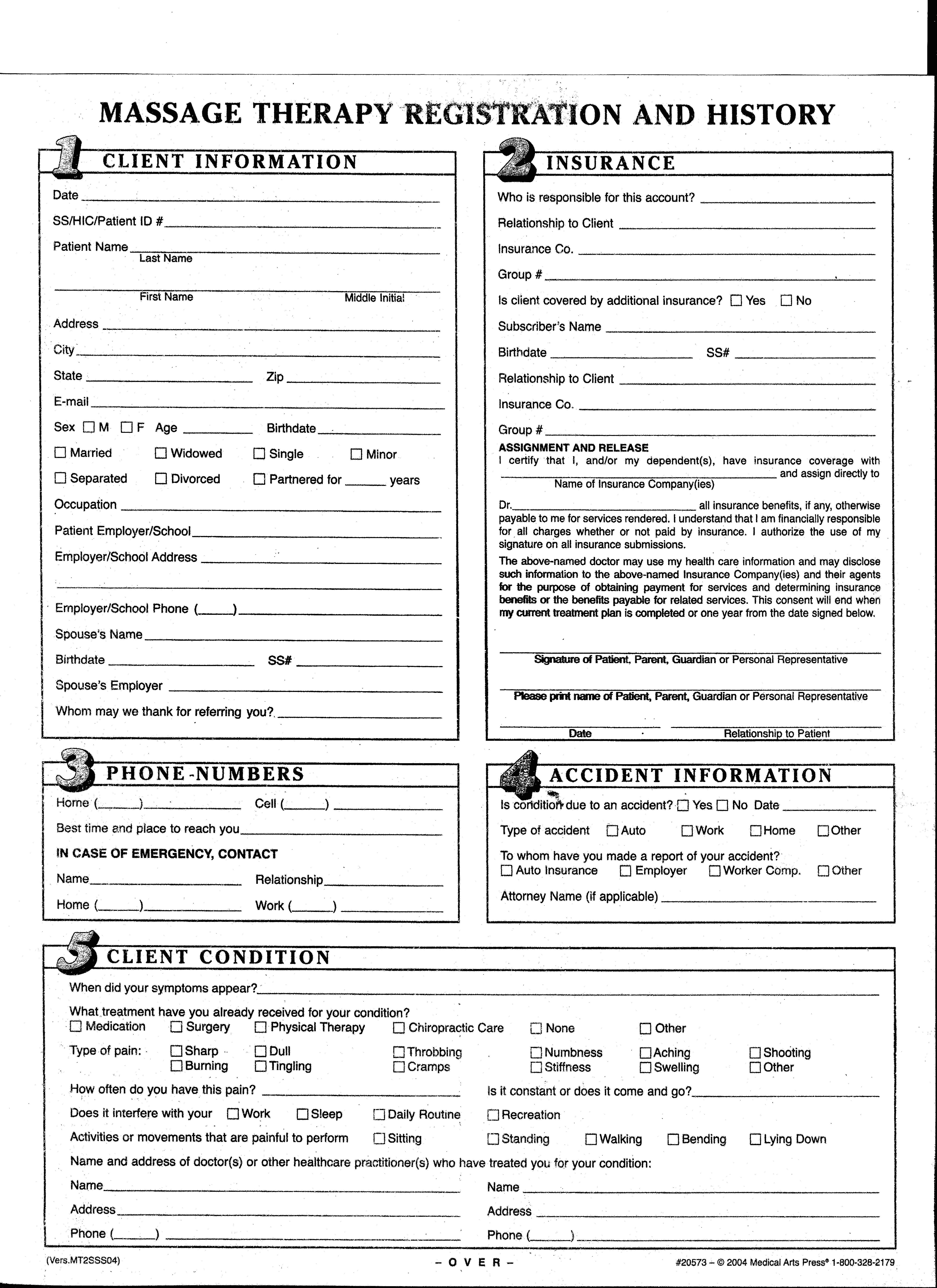 free patient intake form template intake form template 10 free pdf