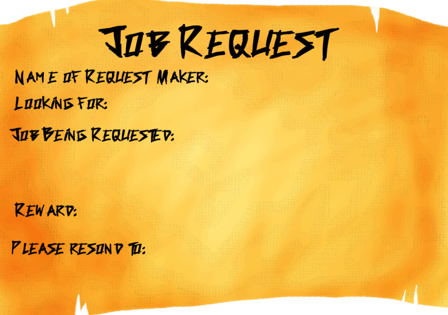 Job Request Template by KonjouNashi on DeviantArt