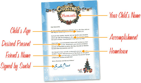 Free Letters From Santa Free Personalized Printable Santa Letters