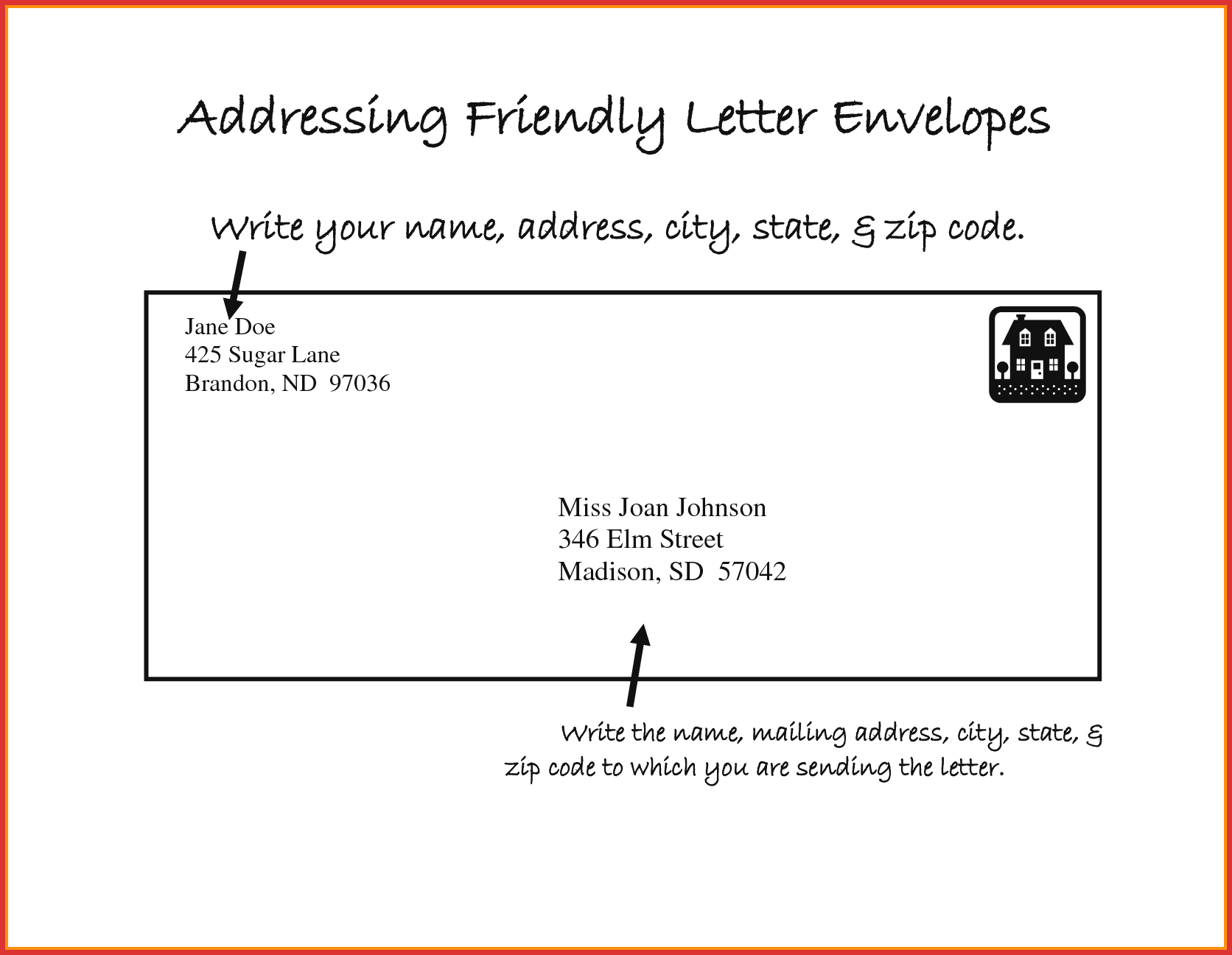 Unique Mail Letter format | types of letter