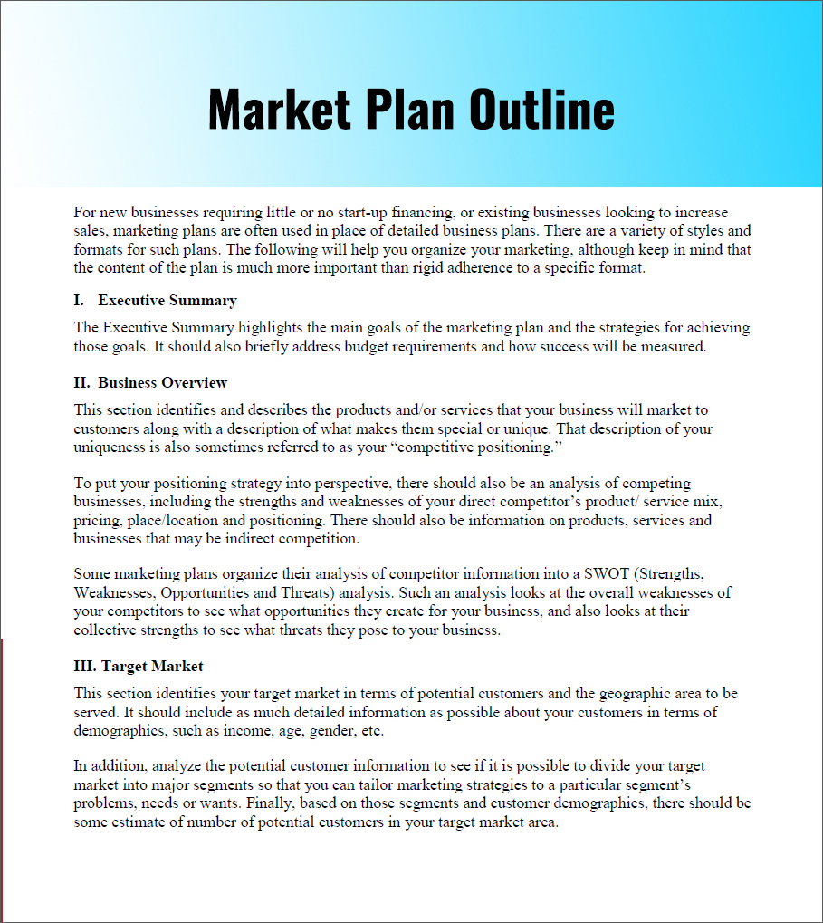 Marketing Plan Example Mobile Discoveries