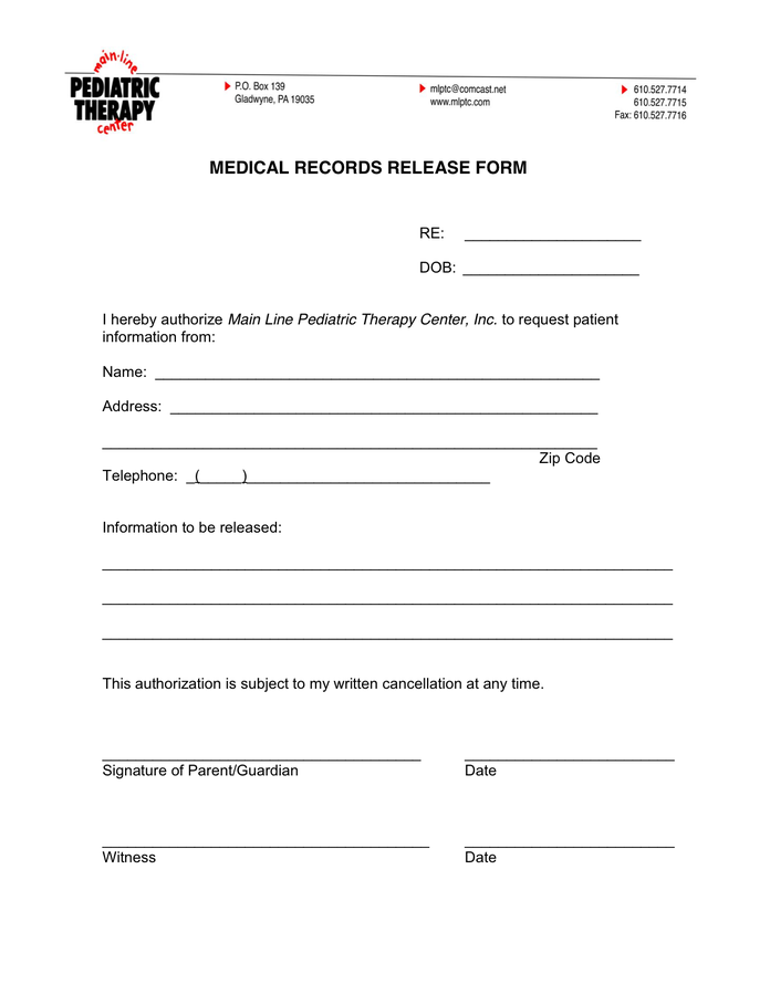 How to Create a Medical Release Form – Online Intake Forms