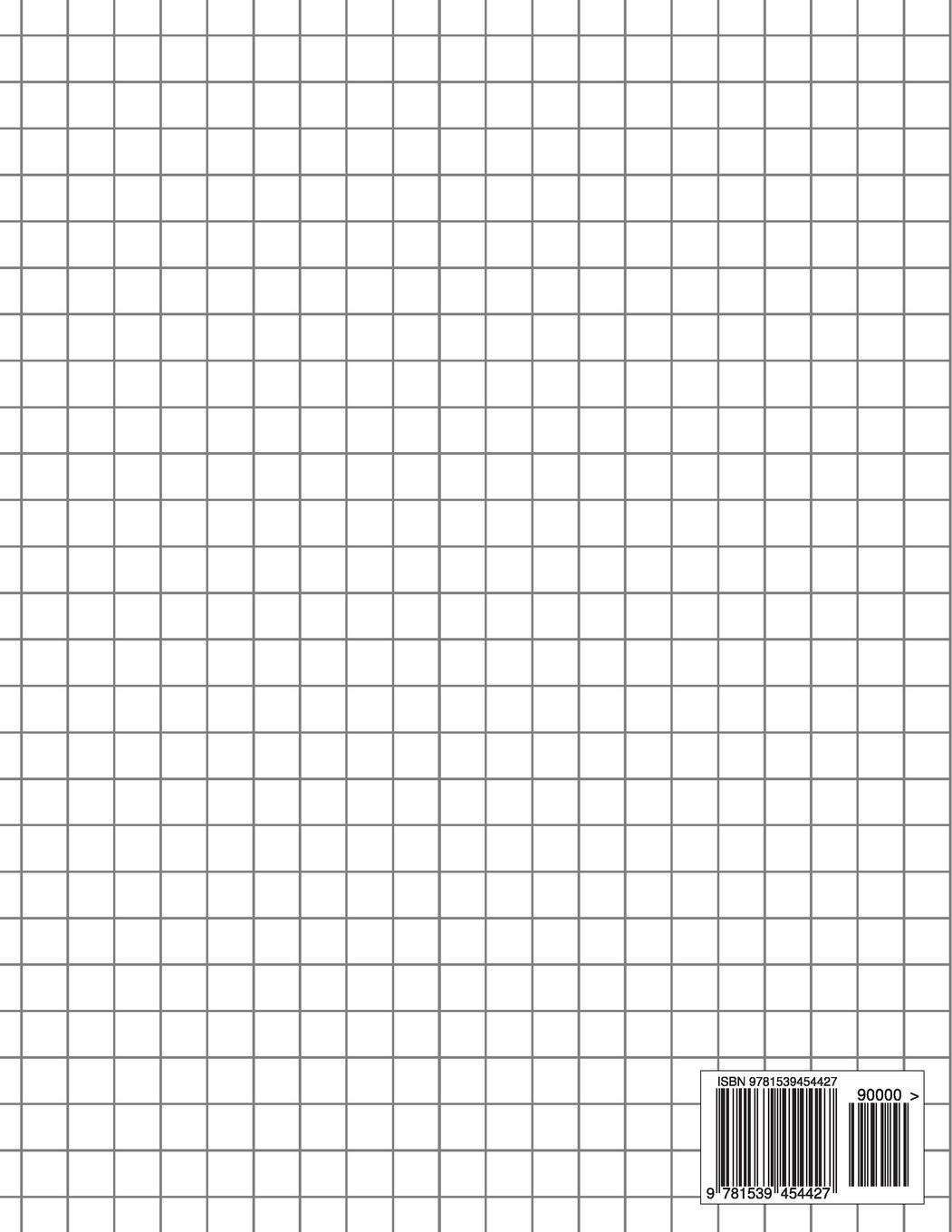 Graph Paper Notebook: 1 cm squares (metric, 120 pages): Graph