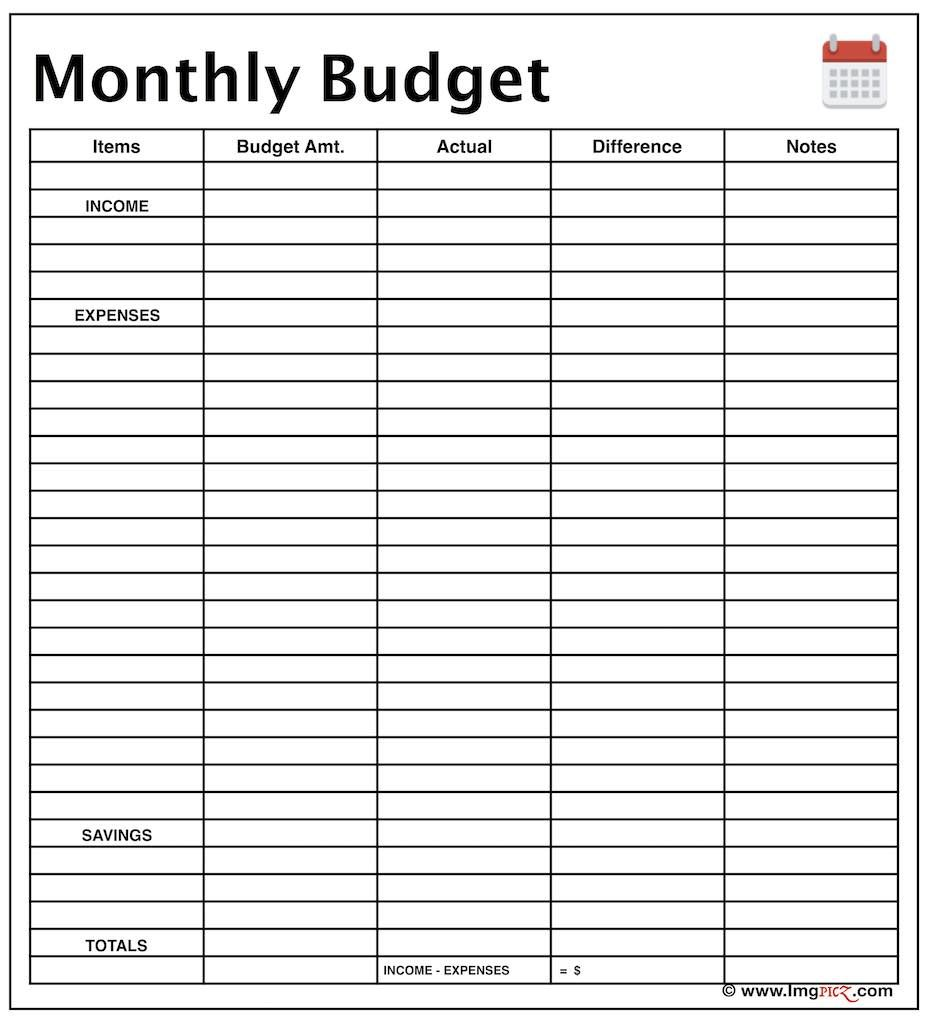 free budget planner template monthly budget planner template 10