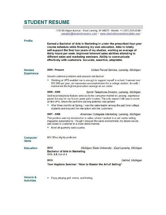 Recent Graduate Resume Objective | Summary For Resume ...