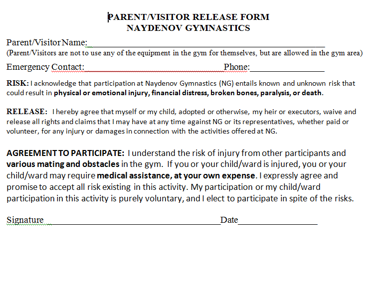 parent photo release form Dean.routechoice.co