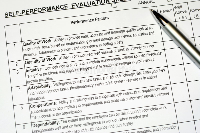 Performance Evaluation Comments for a Motivating Meeting