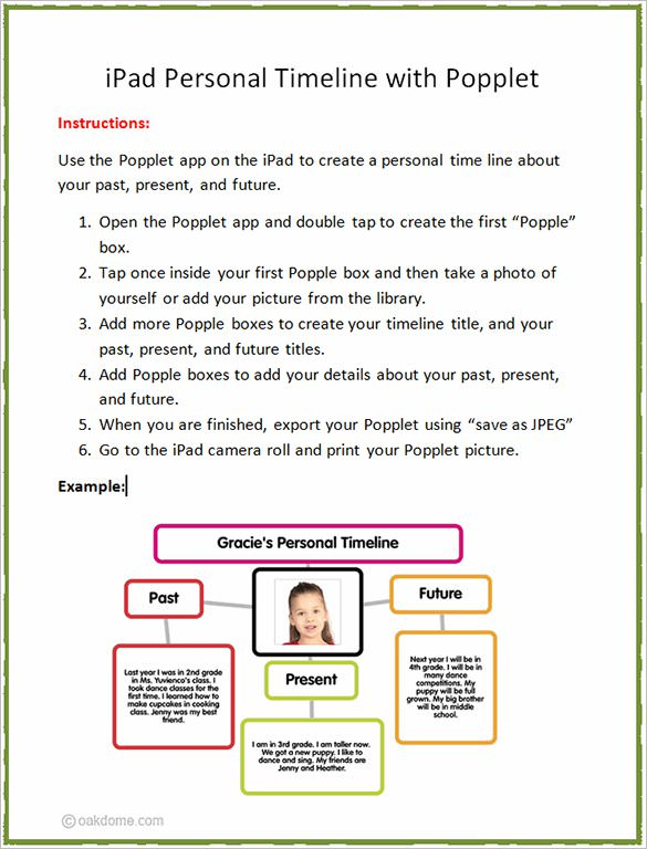 9+ Personal Timeline Templates – Free Sample, Example, Format