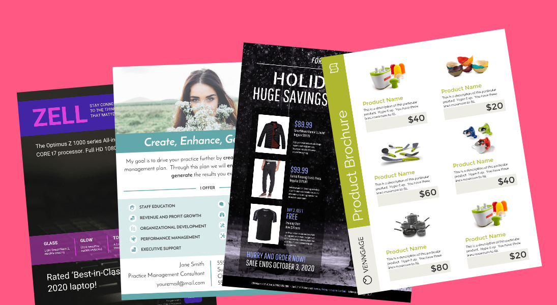 15 Highly Shareable Product Flyer Templates & Tips Venngage