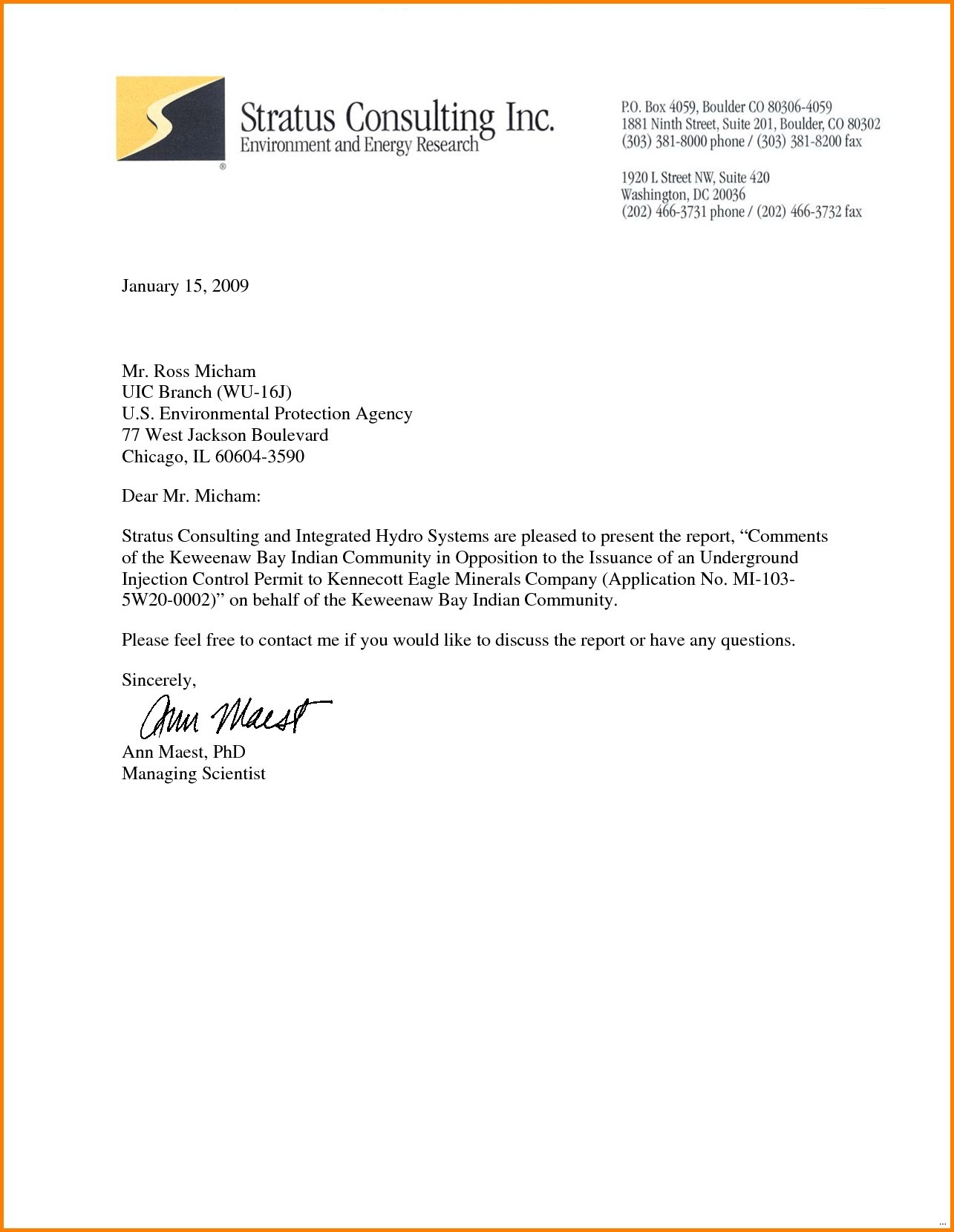 Professional Letter Format Template New Letter To A Professional