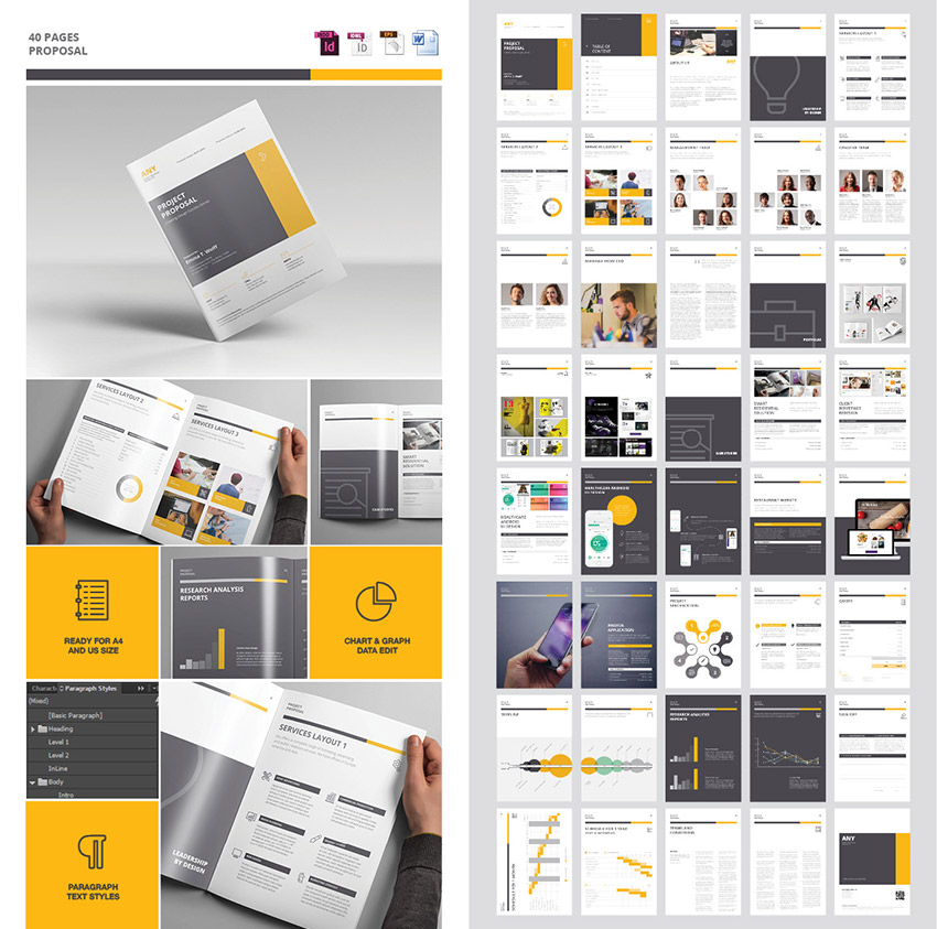 business proposal design template 15 best business proposal
