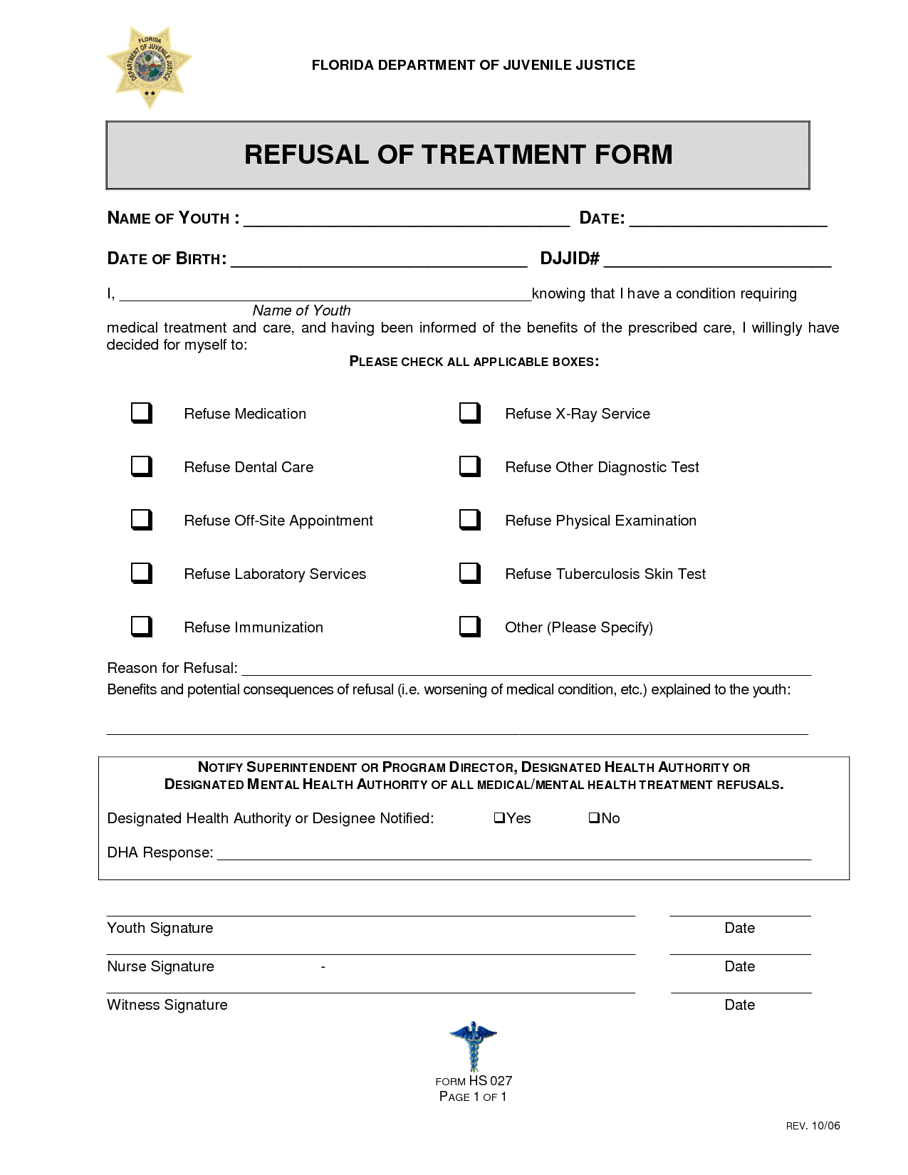 25 Images of Dental Refusal Form Template | gieday.com