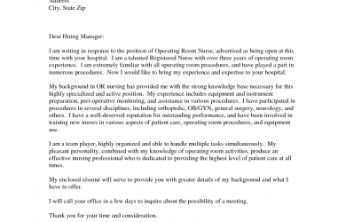 registered nurse cover letter | mobile discoveries