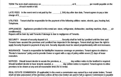 Rental Agreement Pdf Download Mobile Discoveries