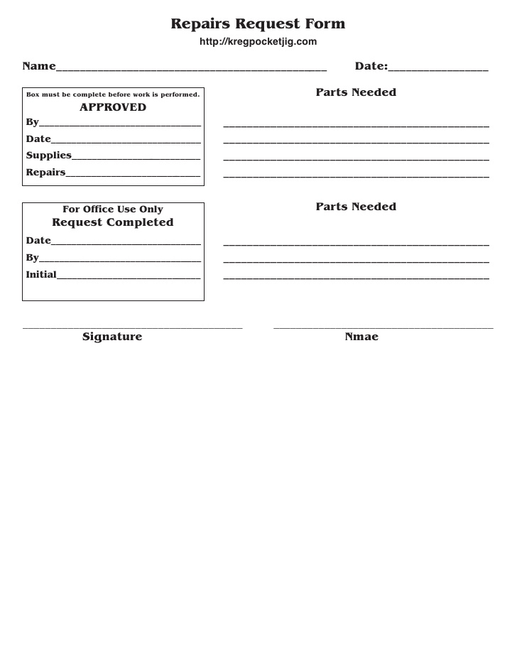 Fillable Online waubonsee Request for Vehicle Repair form