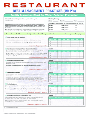 Restaurant Cleaning Checklist Pdf Fill Online, Printable