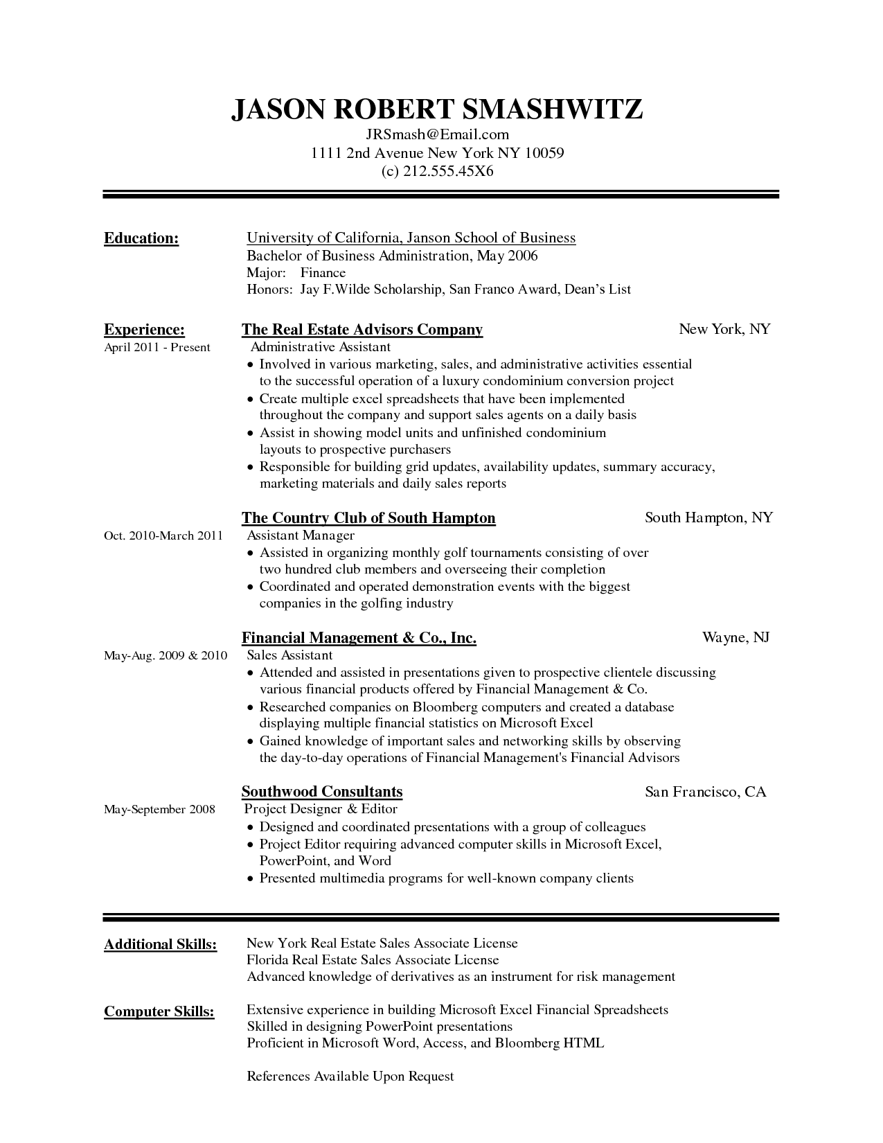 best word resume template Roho.4senses.co